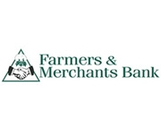 Farmer's and Merchants Bank logo