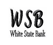 White State Bank logo