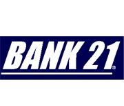 Bank 21 logo