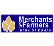 Merchants and Farmers Bank (Dumas, AR) logo