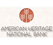 American Heritage National Bank logo