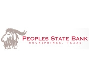 Peoples State Bank (Rocksprings, TX) logo