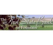First State Bank of Fountain logo