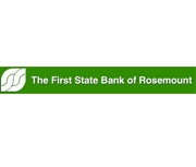 The First State Bank of Rosemount logo