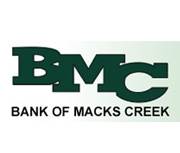 The Bank of Macks Creek logo