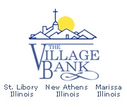 The Village Bank (Saint Libory, IL) logo