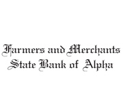 Farmers and Merchants State Bank of Alpha logo