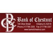 Bank of Chestnut logo