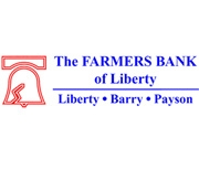 The Farmers Bank of Liberty logo