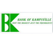 Bank of Kampsville logo