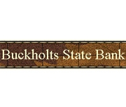 The Buckholts State Bank logo