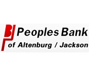 Peoples Bank of Altenburg logo