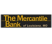 The Mercantile Bank of Louisiana, Missouri logo