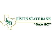 Justin State Bank logo