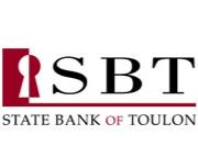 State Bank of Toulon logo