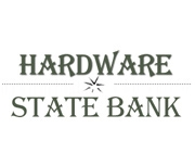 Hardware State Bank logo