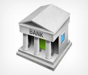 The Dickinson County Bank logo