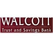 Walcott Trust and Savings Bank logo