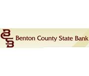 Benton County State Bank logo