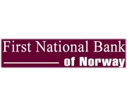 The First National Bank of Norway logo