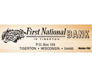 First National Bank In Tigerton logo
