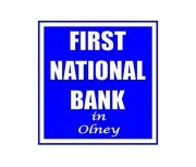 First National Bank In Olney logo