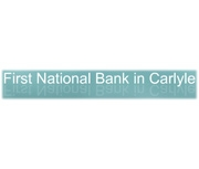 The First National Bank In Carlyle logo