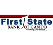 First State Bank of Cando logo