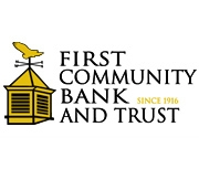 First Community Bank and Trust logo