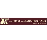 The First and Farmers Bank logo
