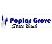The Poplar Grove State Bank logo