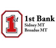 1st Bank (Sidney, MT) logo