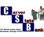 The Carver State Bank logo