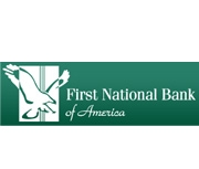 First National Bank of America logo