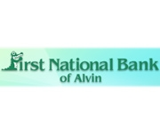 First National Bank of Alvin logo