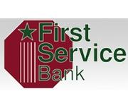 First Service Bank logo