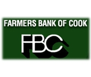 Farmers Bank of Cook logo