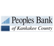 Peoples Bank of Kankakee County logo