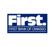 First Bank of Owasso logo