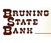 Bruning State Bank logo