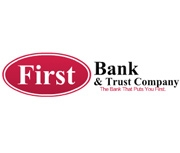 The First Bank and Trust Company logo