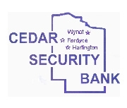 Cedar Security Bank logo