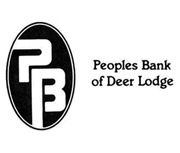 Peoples Bank of Deer Lodge logo