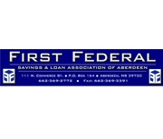 First Federal Savings and Loan Association (Aberdeen, MS) logo