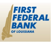 First Federal Bank of Louisiana logo