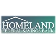 Homeland Federal Savings Bank logo