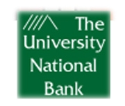The University National Bank of Lawrence logo