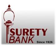 Surety Bank logo