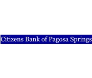 Citizens Bank of Pagosa Springs logo