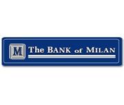 The Bank of Milan logo